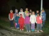 Na noční procházce obcí